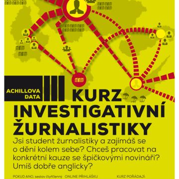 Achillova data III – Kurz investigativní žurnalistiky