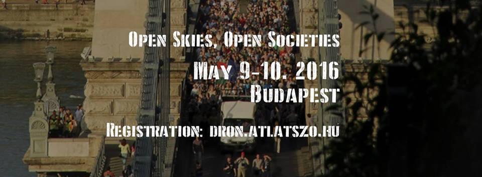 Účastníme se konference o využití dronů v Budapešti