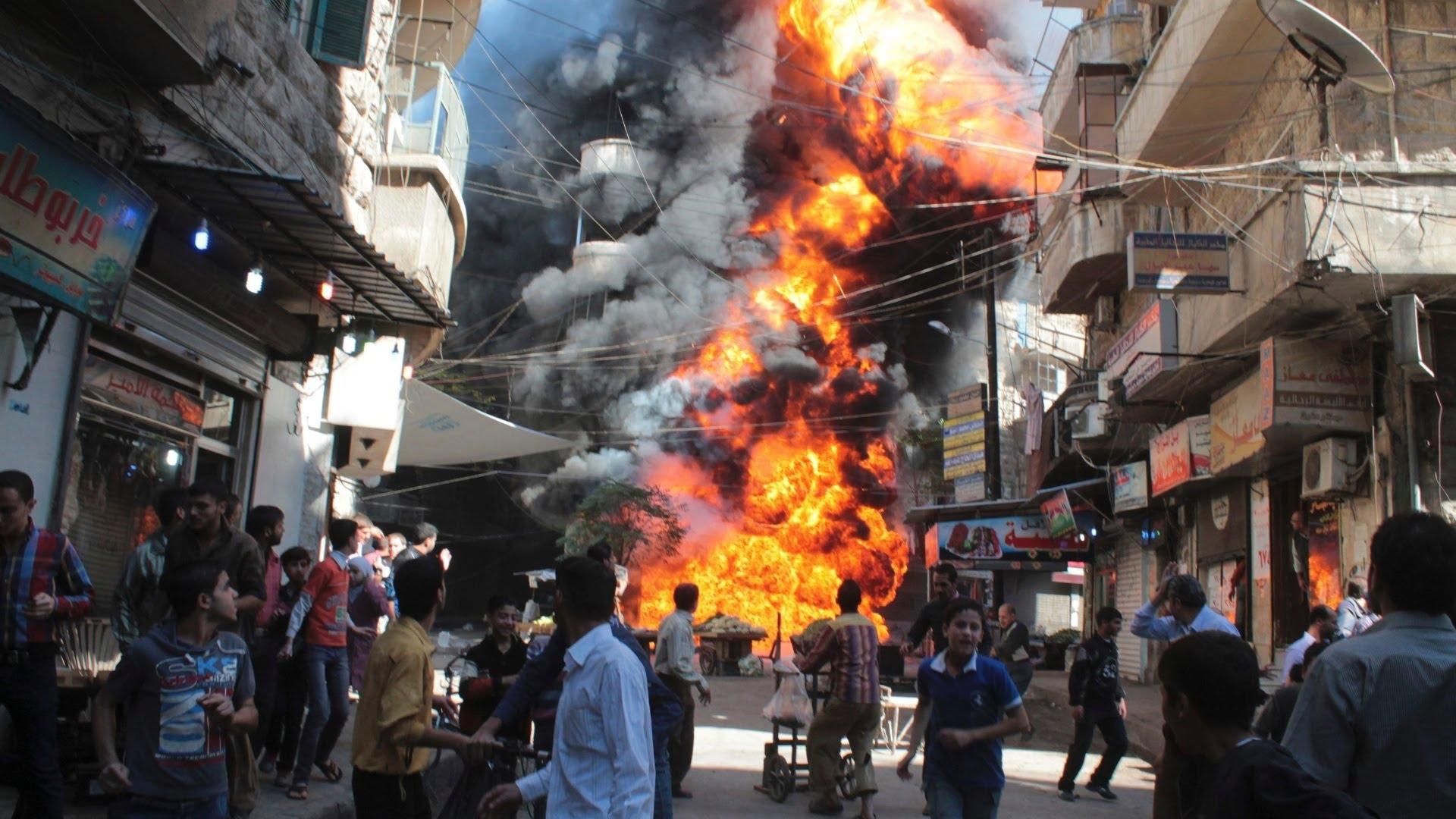 Blízkovýchodní bomba kšeft