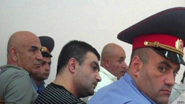 Gagik Matevosyan aka Voják Gago u soudu. Foto: RFE/RL