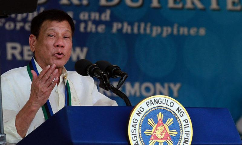 "Prezident Filipín Duterte ""anti-osobností"" roku 2017"