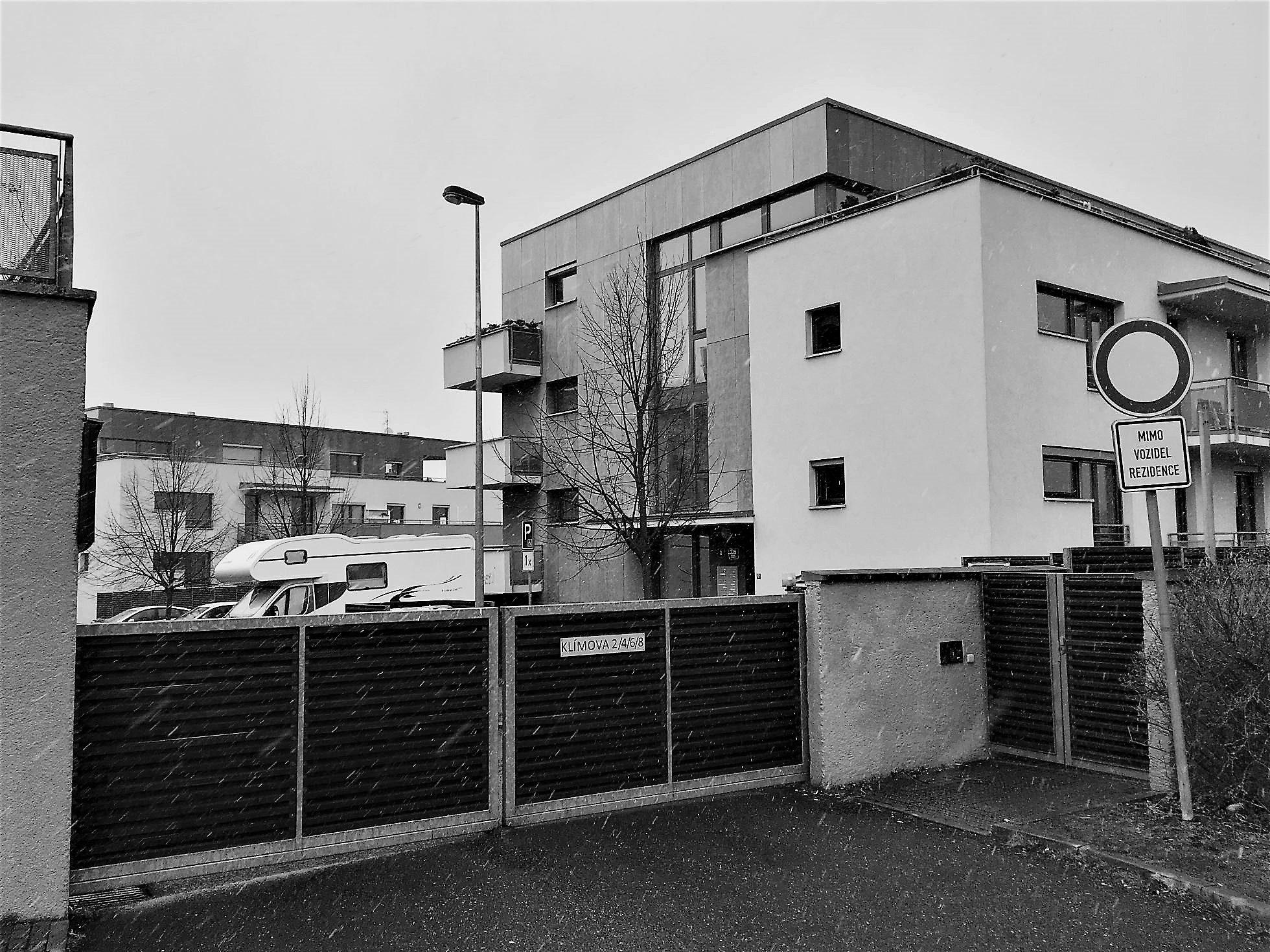 Tajuplná rezidence v Radlicích