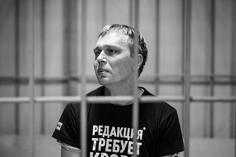 Novinář Golunov obdržel cenu Anny Politkovské