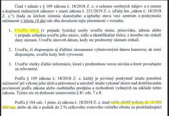 Prohlášení redakce investigace.cz: Zdroje chráníme