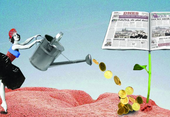 vládní inzerce a peníze daňových poplatníků