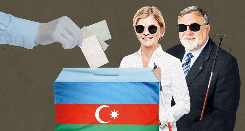 Zákonodárci Procházková a Doubrava chválili volby v Ázerbájdžánu. Za peníze Ázerbájdžánu