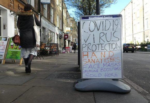 Koronavirus: zločin včera, dnes a zítra