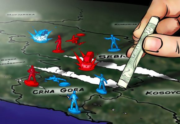 Kokainové gangy rozdělují Balkán