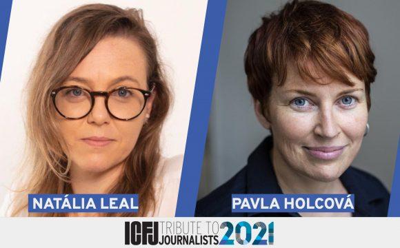 Pavla Holcová získala 2021 ICFJ Knight International Journalism Award