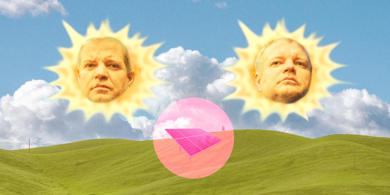 Spalující slunce podnikatele Zemka